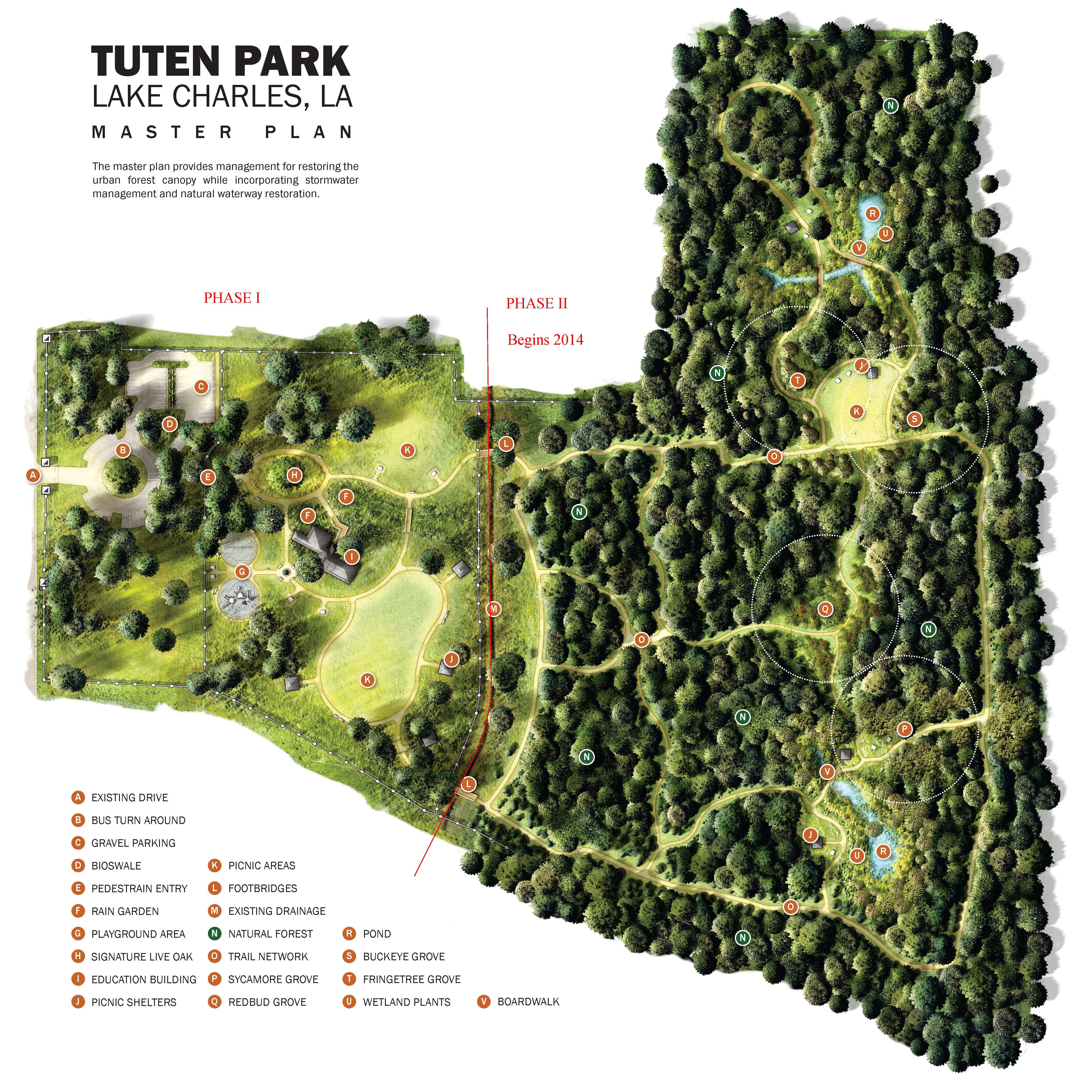 Tuten Park Master Plan
